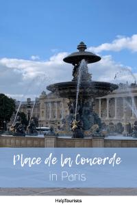 Pin Place de la Concorde