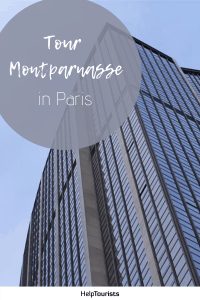 Pin Tour Montparnasse