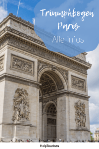 Pin Triumphbogen Paris