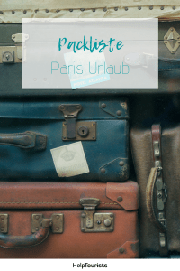 Pin Packliste