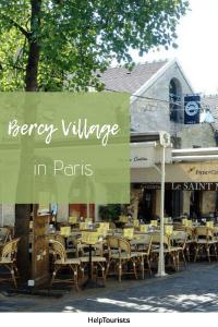Pin Bercy Village