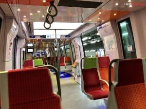 Paris Versailles Anreise Zug innen I