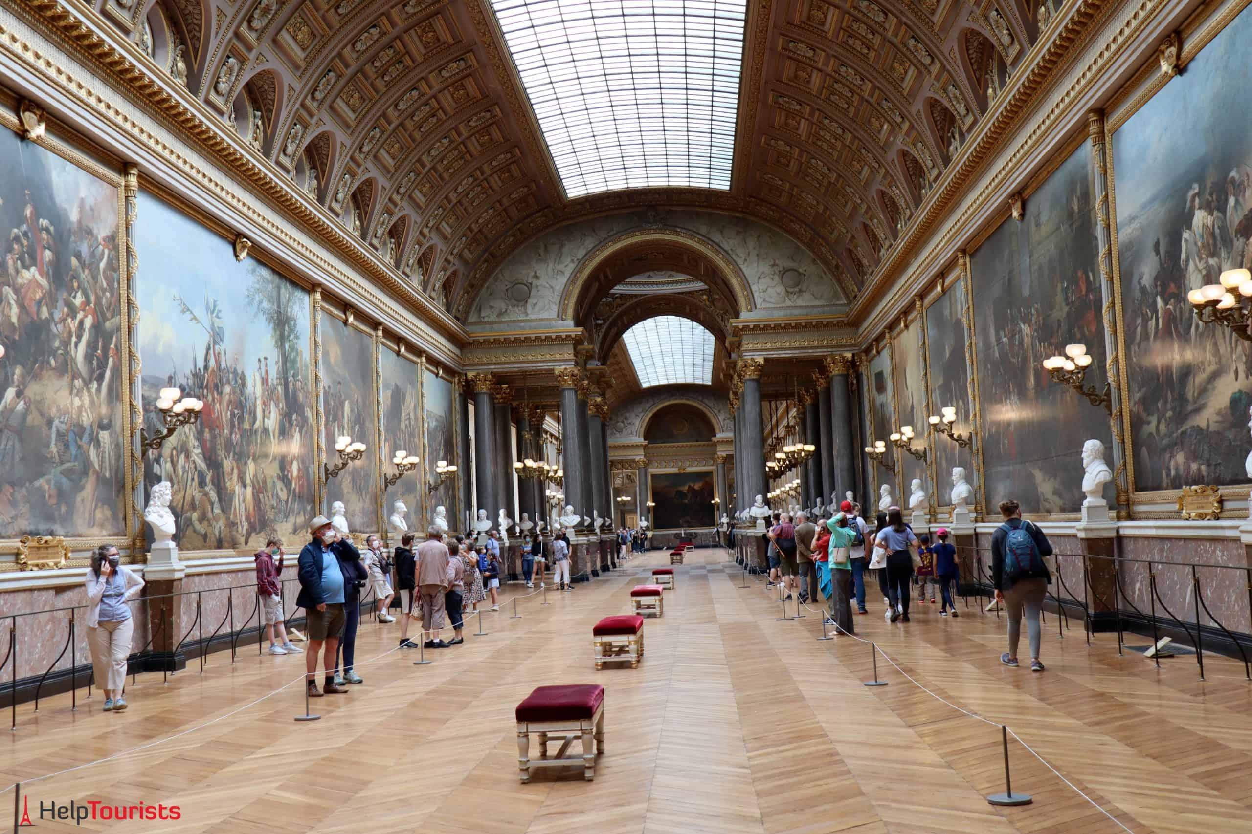 Paris Versailles La Galerie des Batailles 17