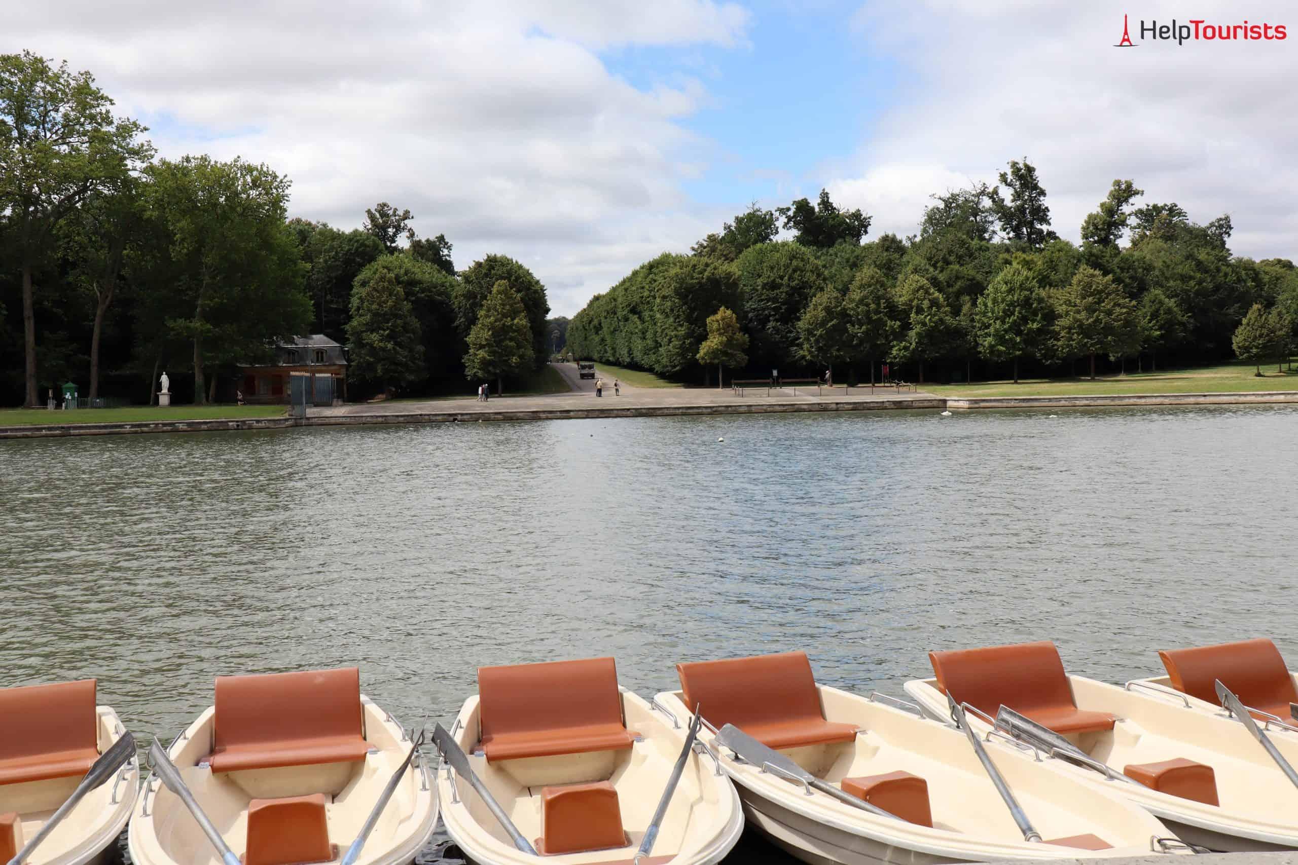 Paris Versailles Petit Venice Boote 3