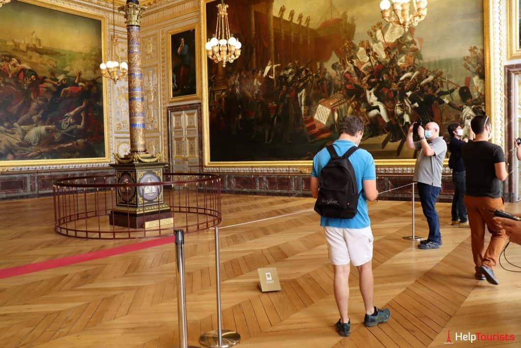 Paris Versailles Salle des gardes de la reine 2