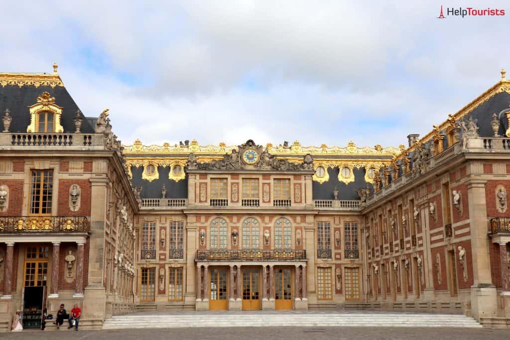 Paris Versailles Schloss ganz