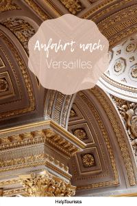 Pin Anfahrt nach Versailles