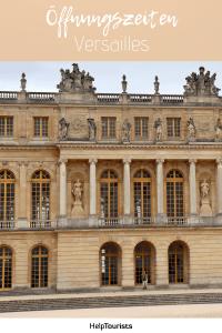 Pin Öffnungszeiten Versailles