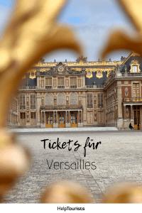 Pin Tickets für Versailles