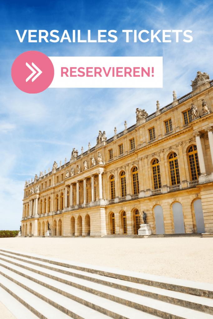 Versailles Tickets reservieren