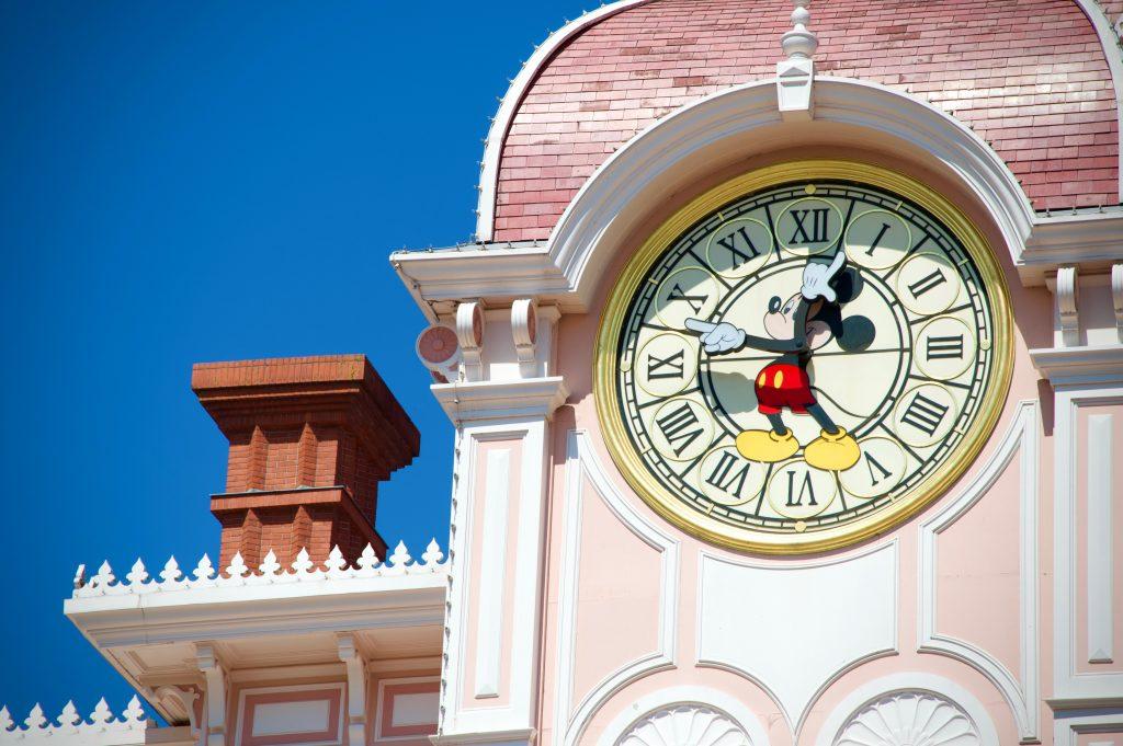 Mickey Uhr Disney Paris