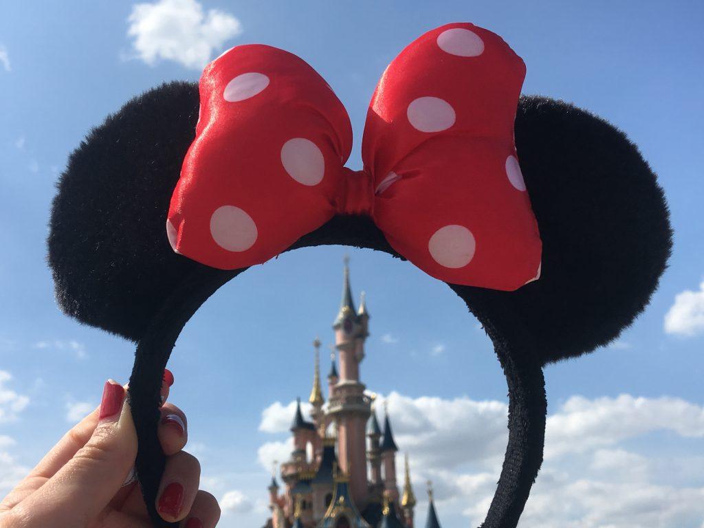 Minnie Haarreif Disneyland Paris