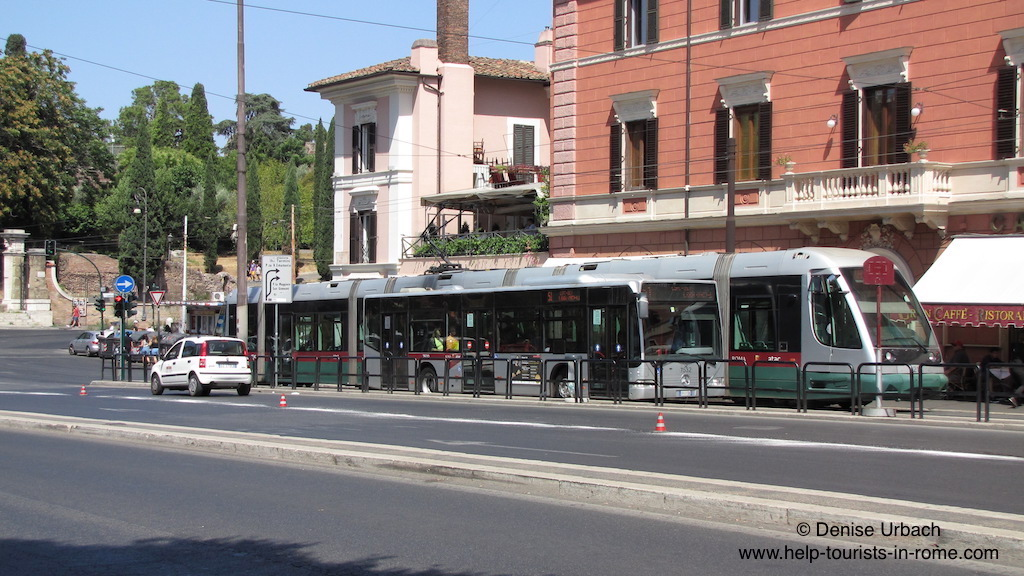 tram-and-bus-in-rome