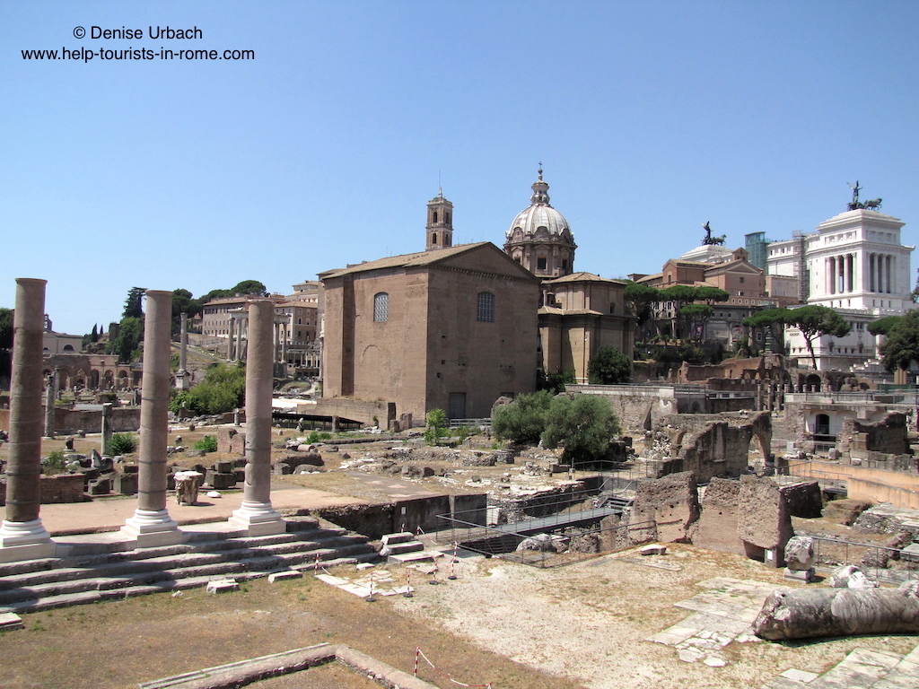 Roman Forum Rome: Tickets, map, hours and entrance ...