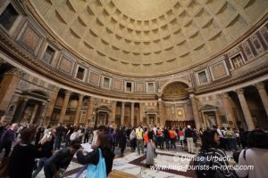 Pantheon Rom im Inneren