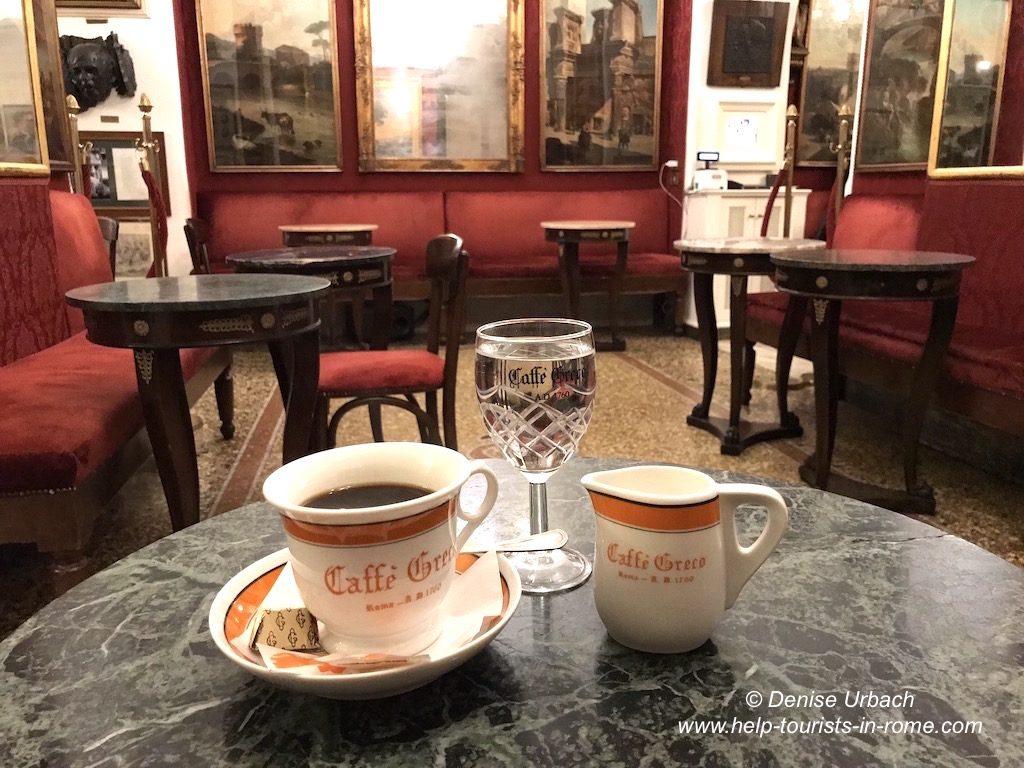 Café trinken Rom