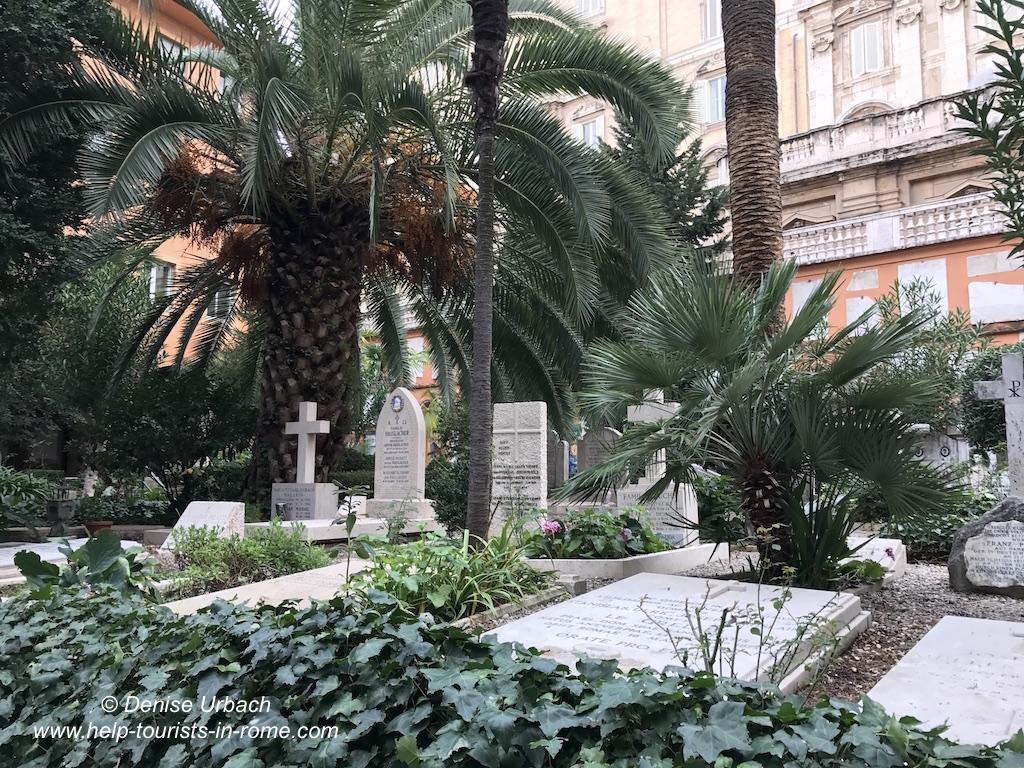 Campo Teutonico Deutscher Friedhof Vatikan