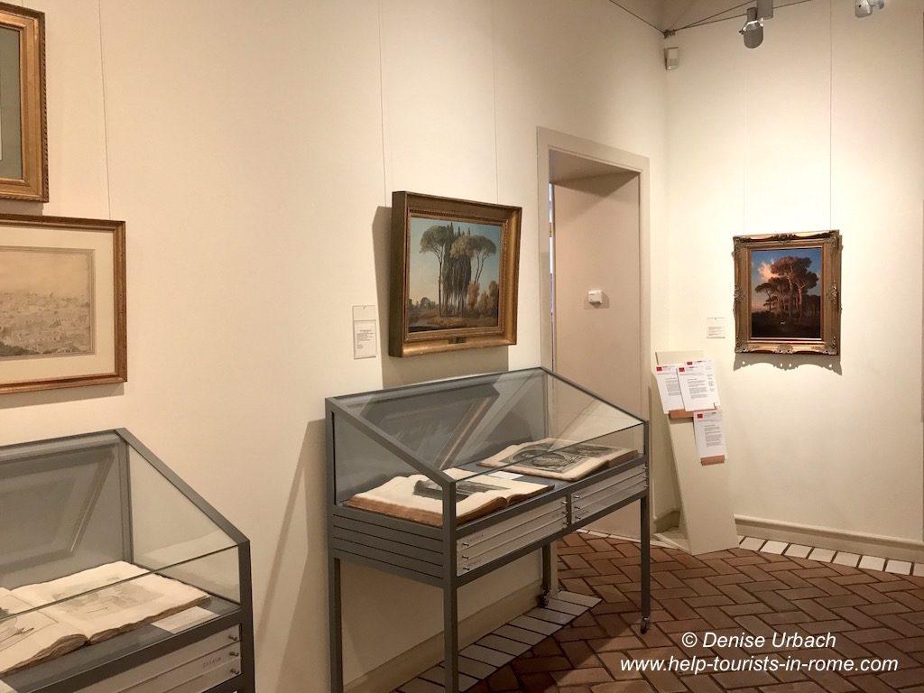 Ausstellung Goethe Haus Rom