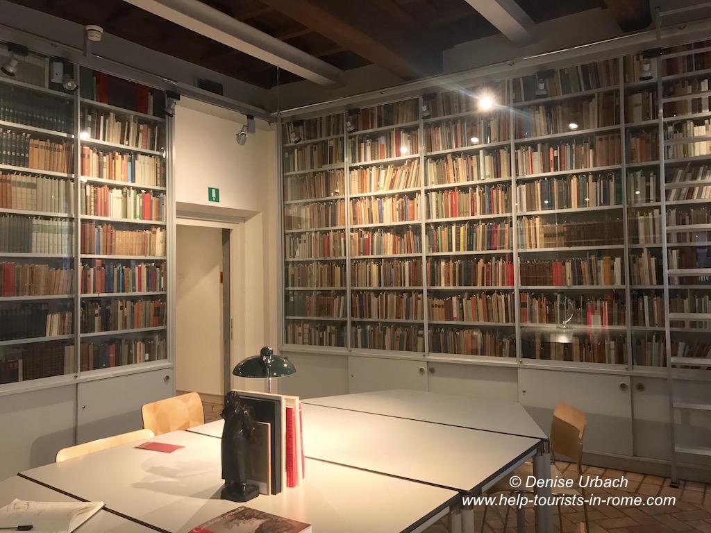 Bibliothek Goethe Haus Rom