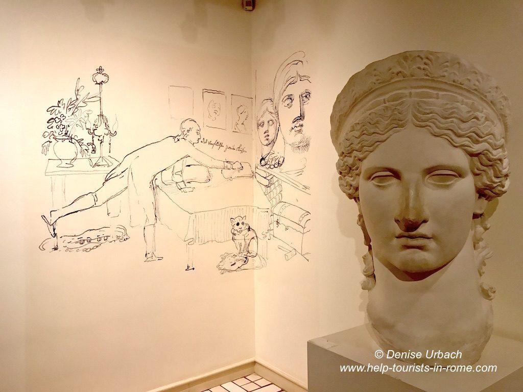Goethe Haus in Rom besuchen