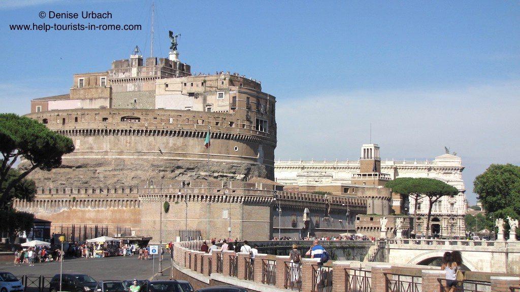 Castel Sant'Angelo Rome view
