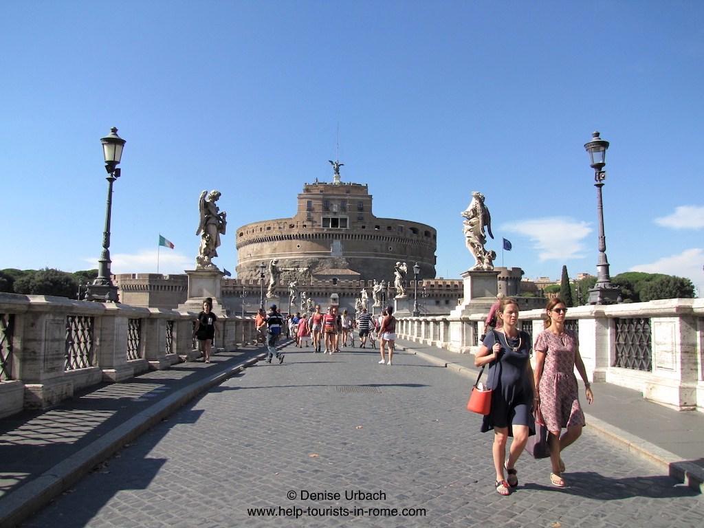 Castel Sant'Angelo bridge
