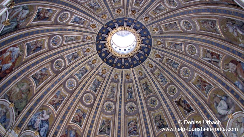 st peter's dome inside