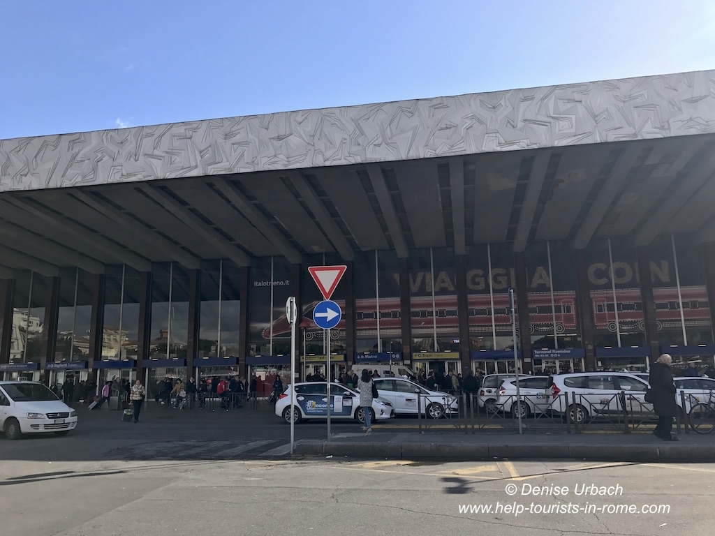 Taxis Rome termini station