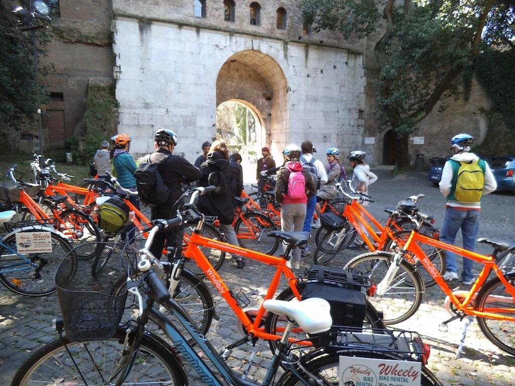 Bike rental Rome