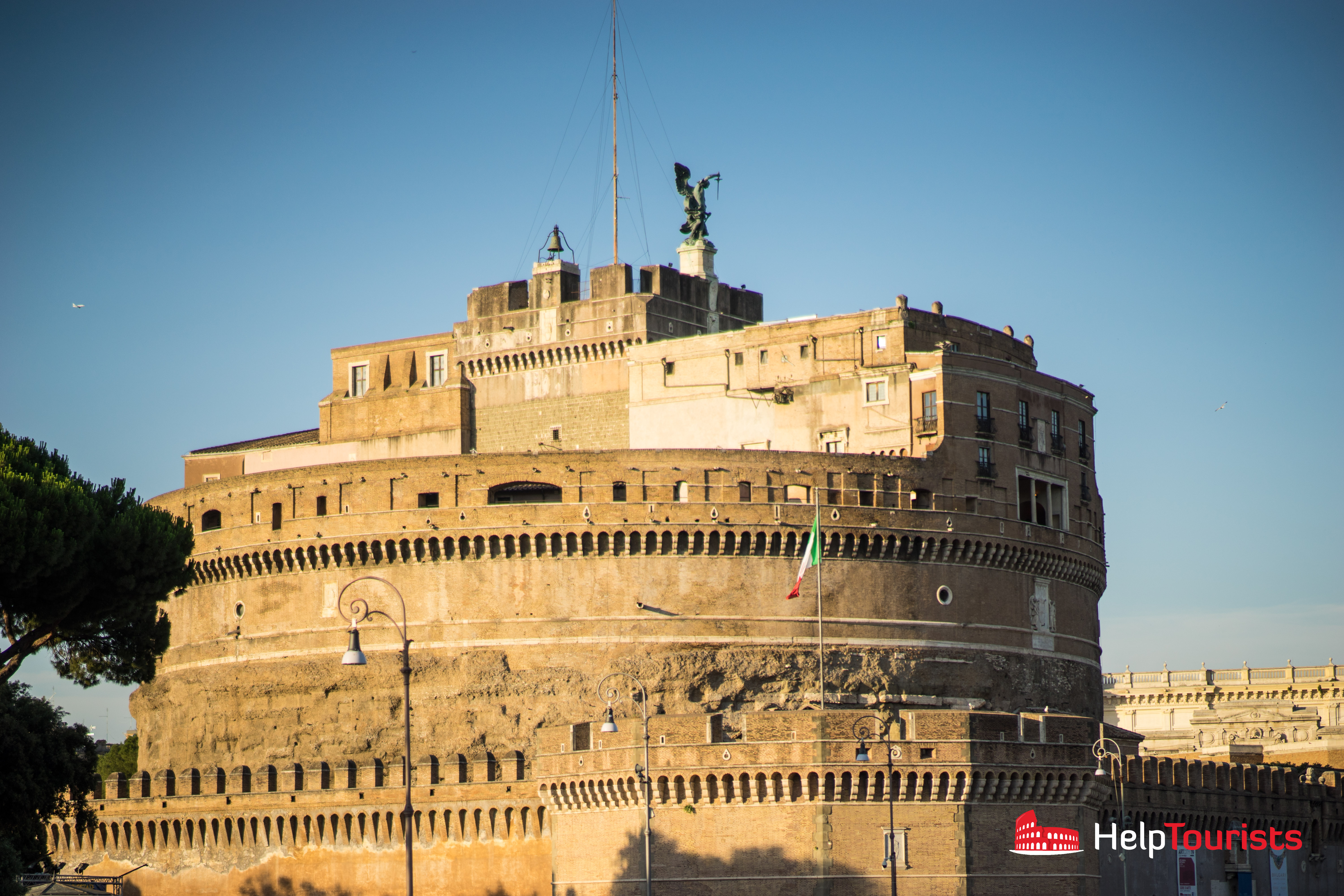ROME_Saint Angelo's Castle_close_l