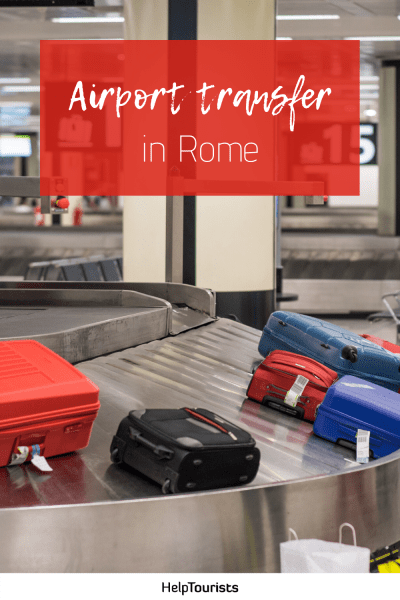Pin Airport Transfer in Rome