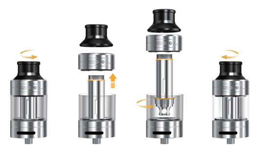 How to change the coil in the Cleito Pro tank?