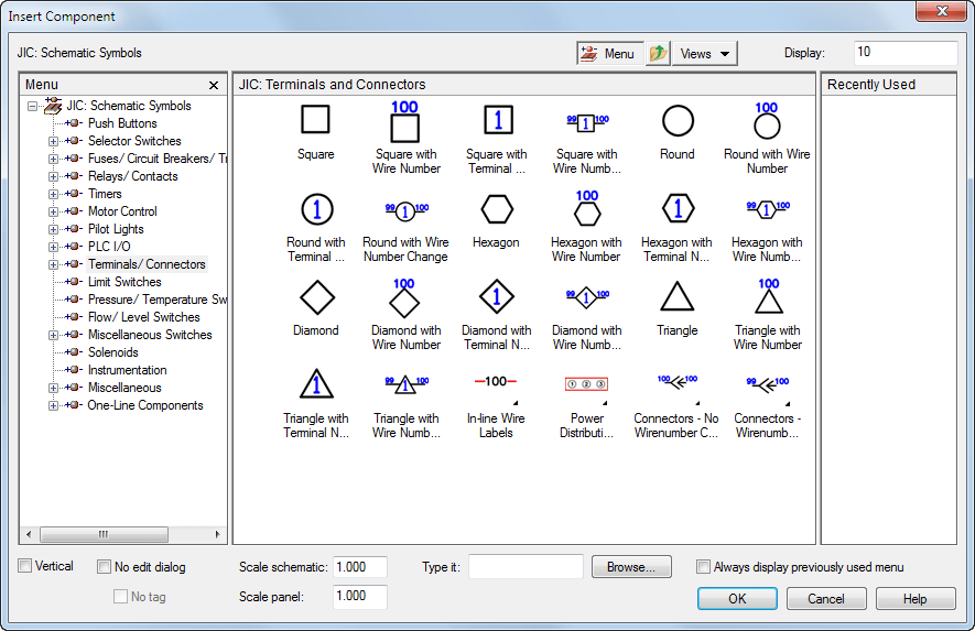 Schematic Terminals AutoCAD Electrical Autodesk Knowledge Network