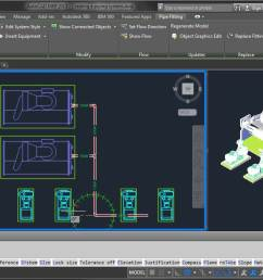 autocad mep creating a piping system autocad mep autodeskautocad mep creating a piping system autocad mep [ 1600 x 900 Pixel ]