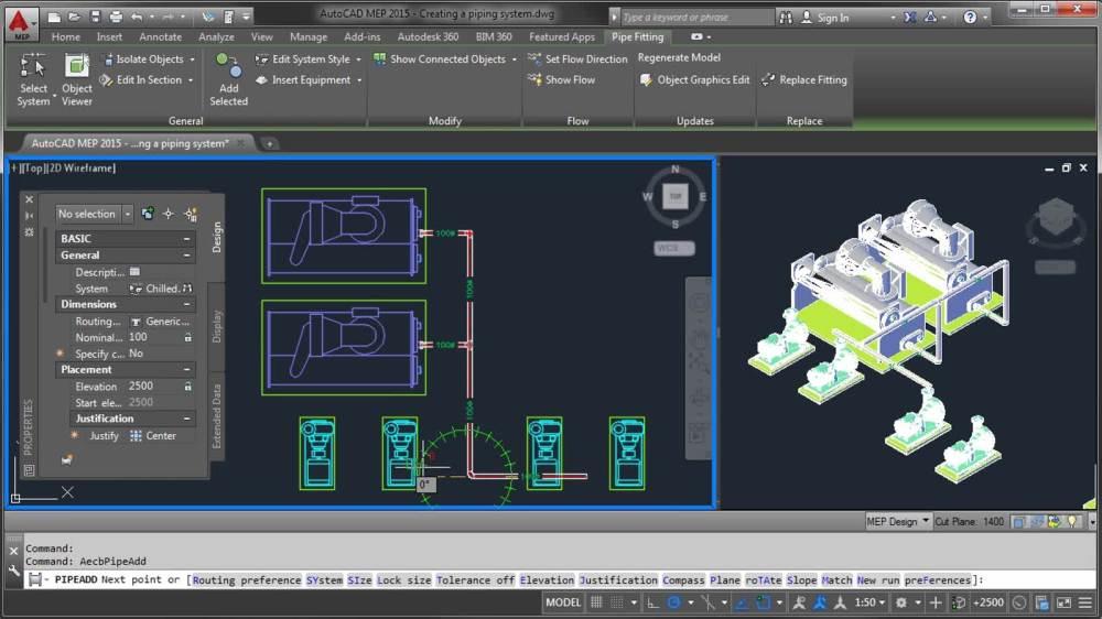 medium resolution of autocad mep creating a piping system autocad mep autodeskautocad mep creating a piping system autocad mep