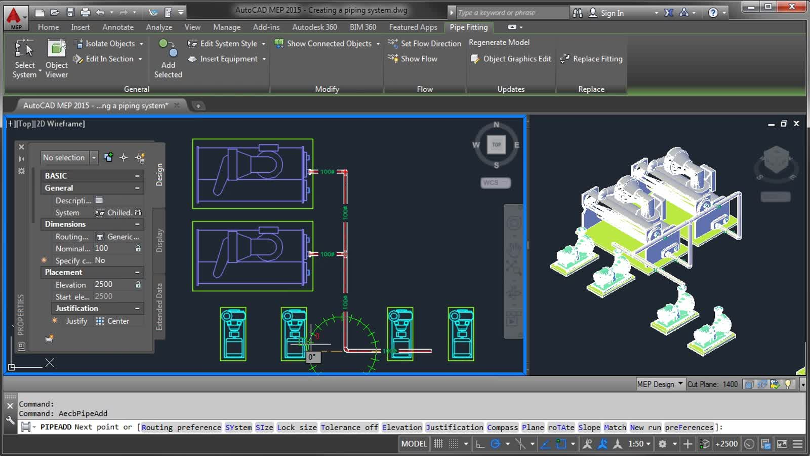 hight resolution of autocad mep creating a piping system autocad mep autodeskautocad mep creating a piping system autocad mep