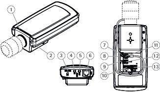 AXIS P1365 Mk II Network Camera User manual