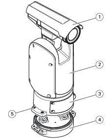 AXIS Q8641–E PT Thermal Network Camera User manual