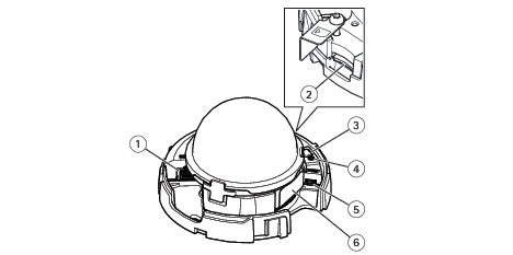AXIS M4206-V Network Camera User manual