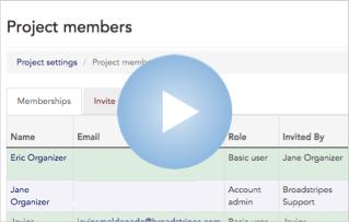 Add and Invite a New User Admin Video