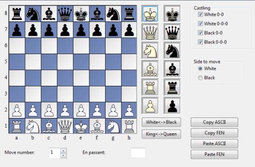 chess board setup diagram 2003 ford f150 speaker wiring enter position
