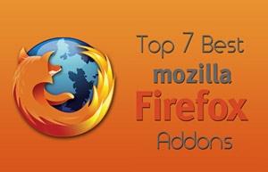 Top 7 Best Mozilla Firefox Addons