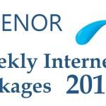 Telenor Weekly internet Packages 2019