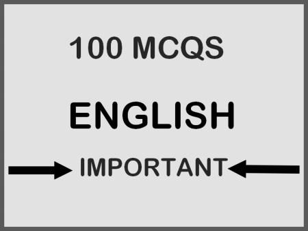 100 MCQS