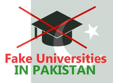 Illegal / Fake Universities & Campuses in Pakistan