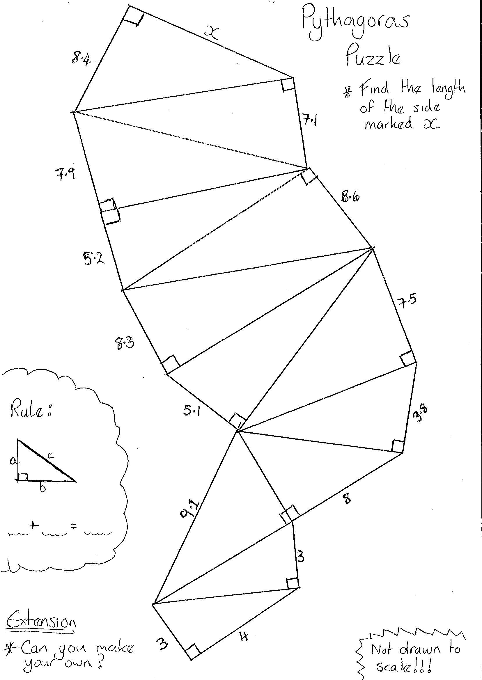 How To Get A Point That Makes A Fixed Angle To Segment