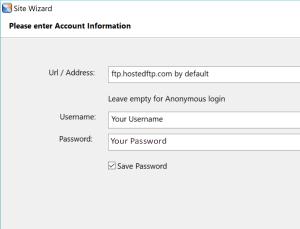 webdrive login