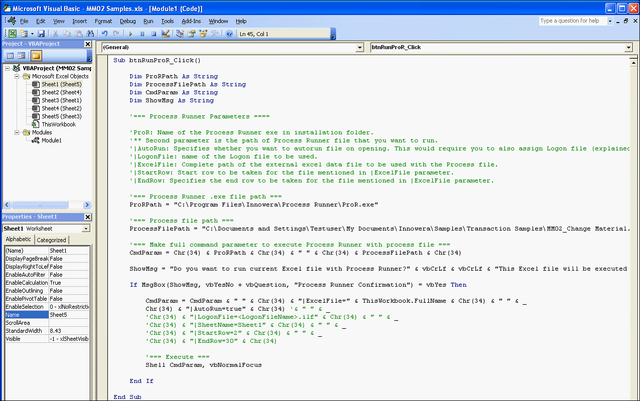 2 1 Automatically Generate Vba Code From Process Runner