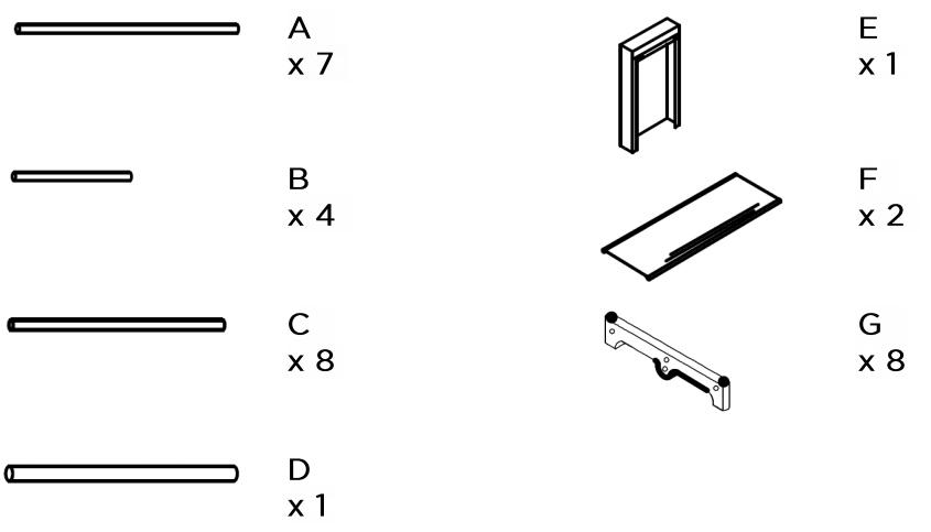 Ovela Large Portable Clothes Storage Organiser (Grey