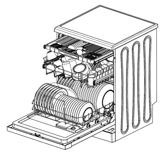Kogan Series 7 Freestanding Dishwasher (Stainless Steel